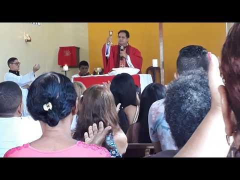 Domingo de Ramos - Paróquia São João Batista 2019