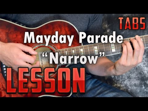 Mayday Parade-Narrow-Guitar Lesson-Tutorial-How to Play-Tabs
