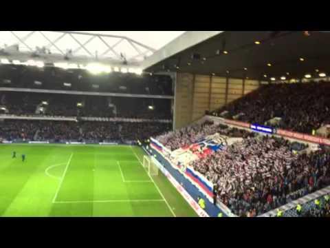 Rangers fans follow follow
