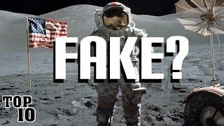 Top 10 Moon Landing Hoax Theories