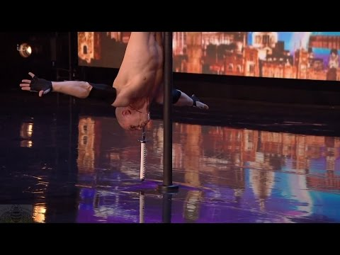 Britain's Got Talent 2016 S10E01 Alex Magala Insane Daredevil Acrobat Sword Swallower Full Audition