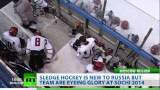 Hockey Hopes: Paralympic sport of sledge hockey eyes new heights in Russia ahead of 2014 Sochi Games