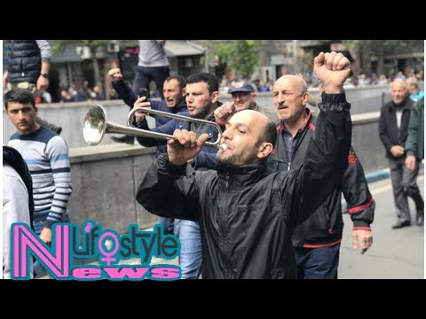 Armenian opposition leader arrested, but protesters rally