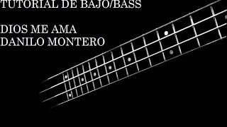 Dios me ama - Danilo Montero - Tutorial Bajo