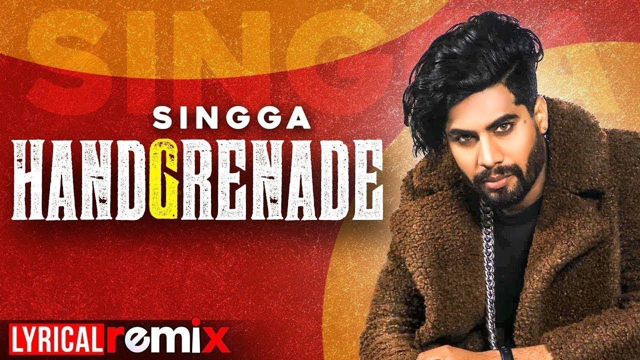 Handgrenade(Lyrical Remix) |Singga |Desi Crew | Sukh Sanghera| Latest Punjabi Songs 2020