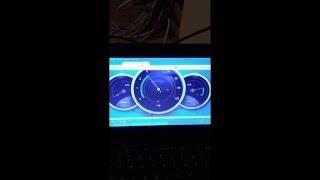 Instalacja internetu LTE Orange rezultat z anteną i bez anteny dualnej 1800 MHz