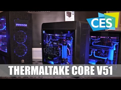 Thermaltake Core V51 TG Computer Case #CES2017