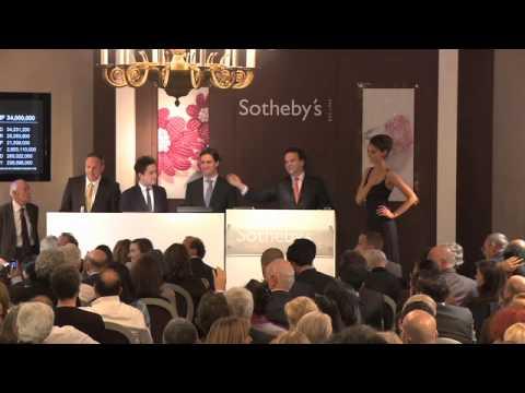Auction Night: A Superb Pink Diamond, 16 November
