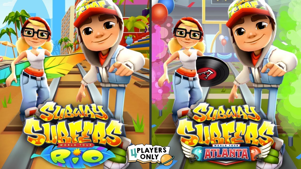 Subway Surfers: ATLANTA Vs RIO By Kiloo
