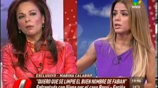 Marina e Iliana Calabró enfrentadas