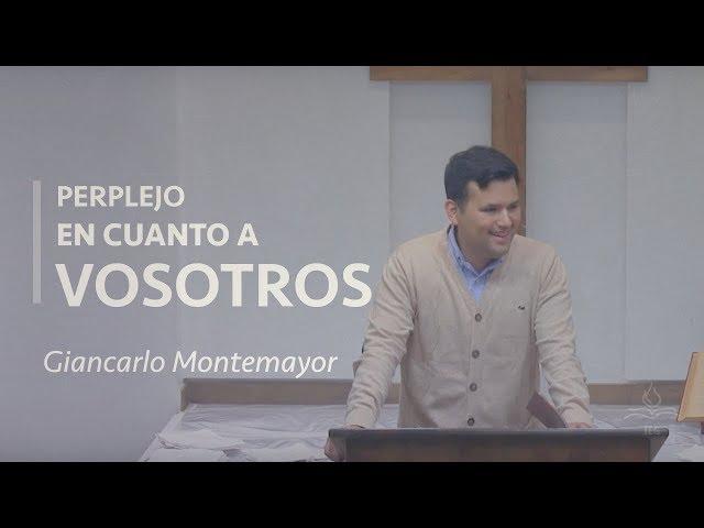 Perplejo en cuanto a vosotros - Giancarlo Montemayor