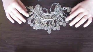 Колье-монисто в стиле бохо. Или ожерелье из монет и всяких побрякушек))