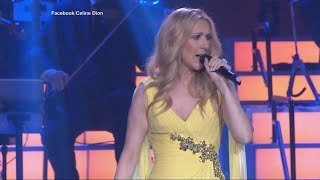 Celine Dion sings hit song from new 'Beauty and the Beast' remake in Las Vegas