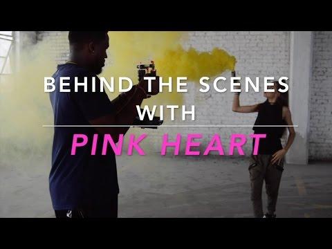 Pink Heart - FYI (Behind The Scenes)