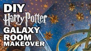 DIY Galaxy Room Makeover - Corinne Vs Decor