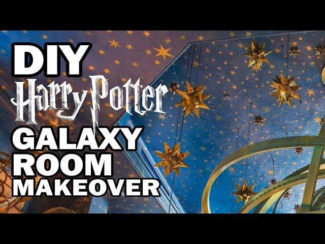 DIY Galaxy Room Makeover - Corinne Vs Decor