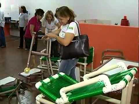 Mobiliários adaptados em PVC - Bom Dia GO