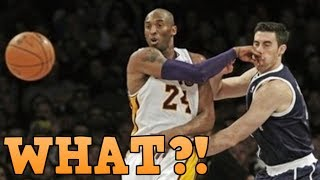 """NBA """"MOST UNEXPECTED"""" Passes"""