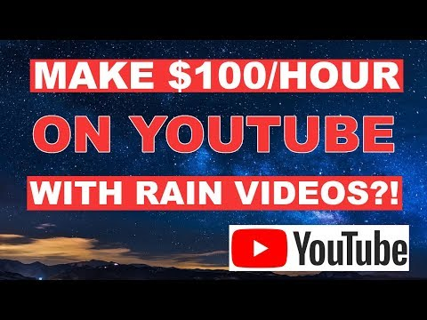 MAKE $100 PER HOUR ON YOUTUBE WITHOUT MAKING VIDEOS