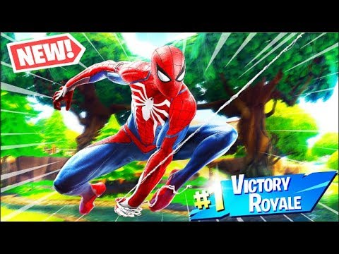 SPIDERMAN SNIPE OFF *NEW* GAMEMODE IN FORTNITE BATTLE ROYALE