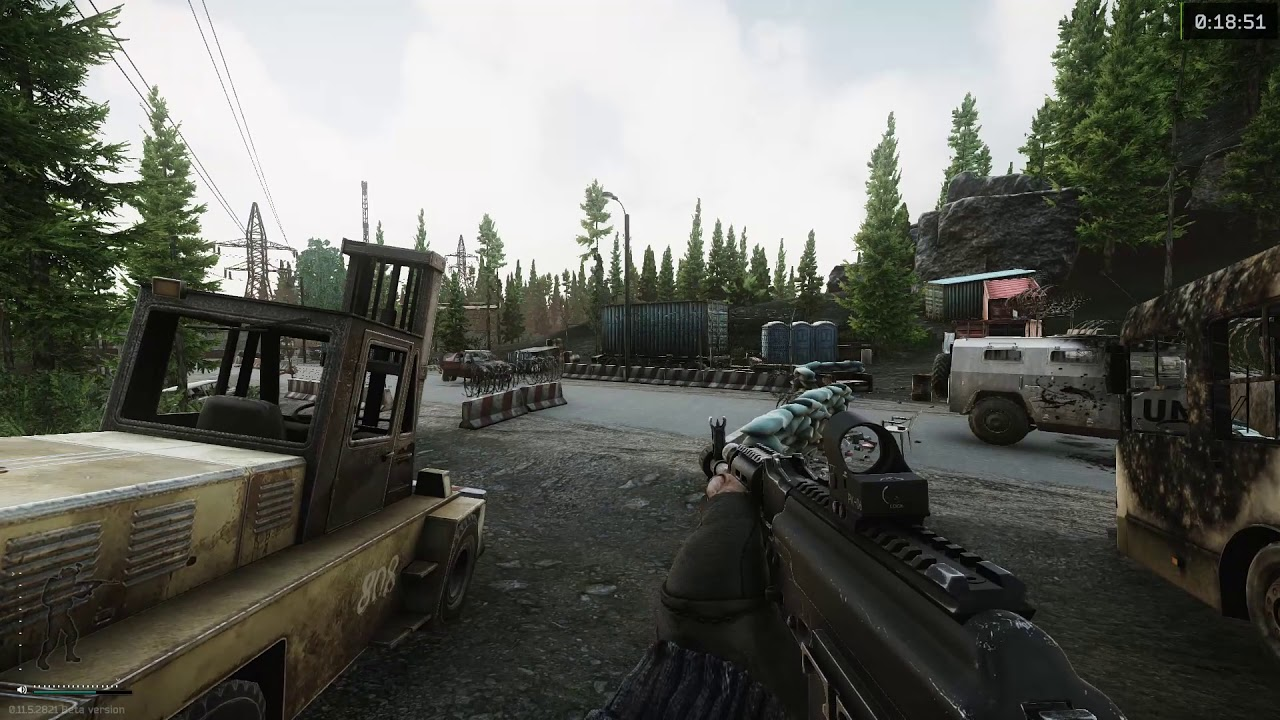 Scavs Checkpoint Scav Exit On Customs Escape From Tarkov Youtube
