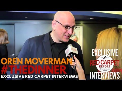 "Oren Moverman, director, interviewed at ""The Dinner"" Premiere #IndieFilm"