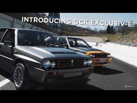 The Lancia Delta Evo-e by GCK Exclusiv-e in action! ⚡