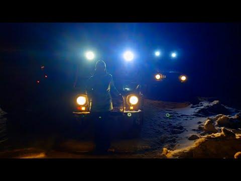 УАЗы, ЛуАЗы и НИВы. Третья попытка проехать маршрут: Сад Леба - деревня Утка - Синегорский - Н.Тагил