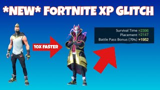 *NEW* XP BOOST HACK IN FORTNITE BATTLE ROYALE! EXTREME XP BOOST!! IceFlyer391