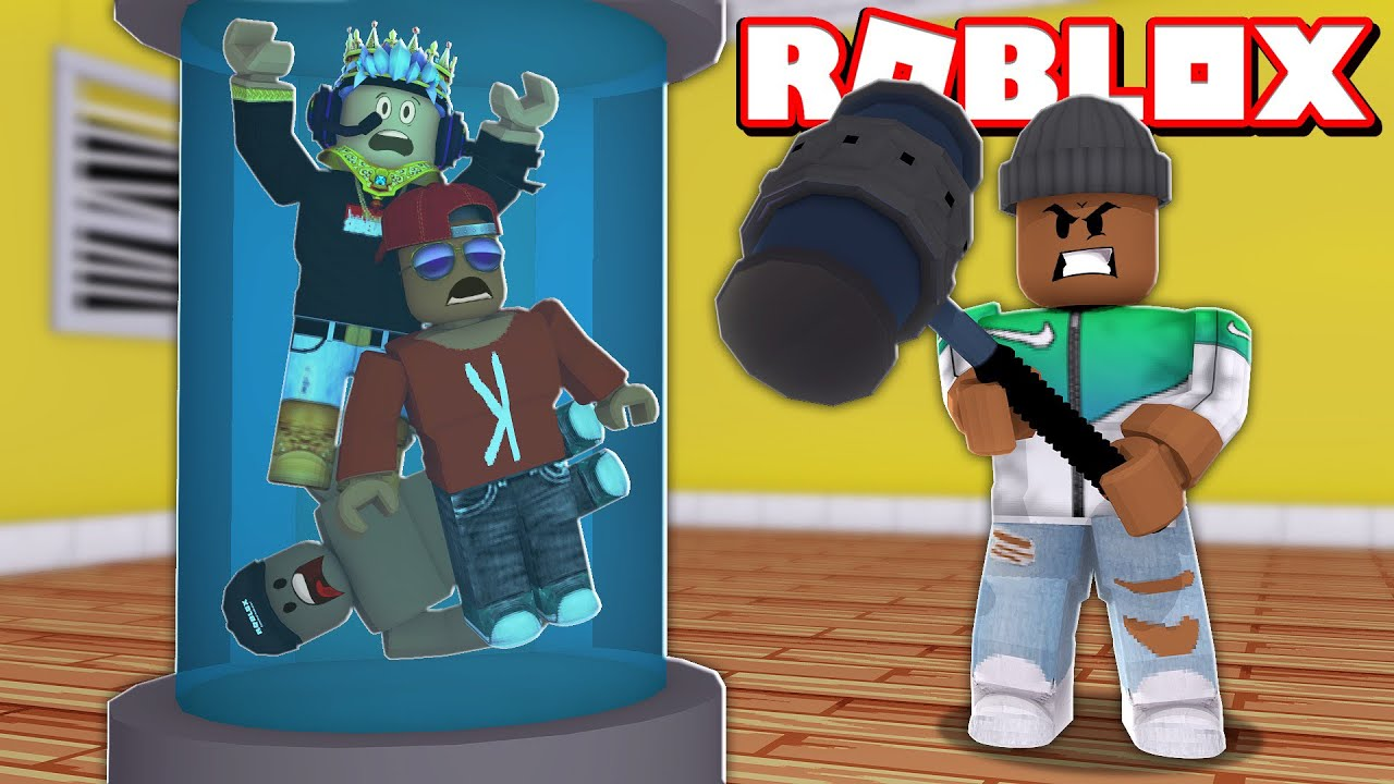 DON'T GET CAUGHT!! 4 PLAYER FLEE THE FACILITY IN ROBLOX!! (Roblox Livestream)