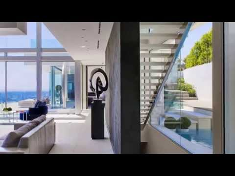 The Essence Of Modern Living Above LA Luxury Mansion In Hollywood
