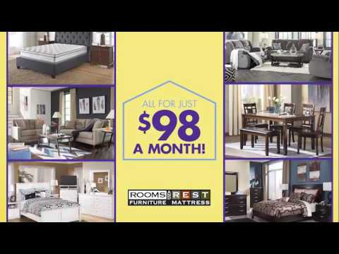 Rooms and Rest: Houseful of Furniture for $98 a Month