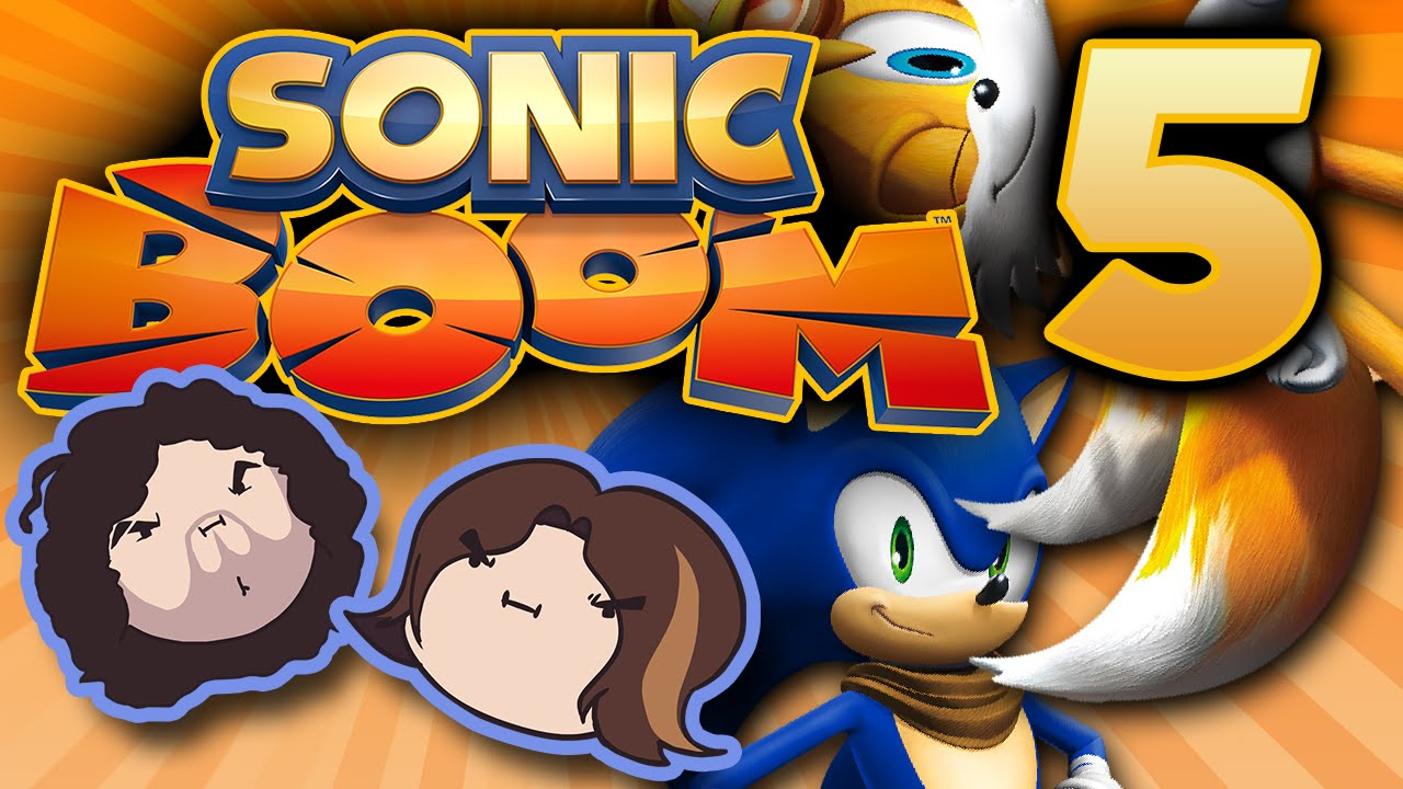 Sonic Boom Boom Jams Part 5 Game Grumps Youtube