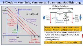 ELEKTRONIK-TUTORIAL 10: Spannungsstabilisierung, Stromquelle