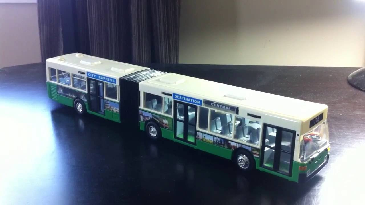 My Old Toy Bendy Bus - 1997 Mercedes-Benz O405GN - YouTube