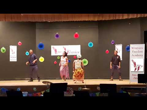 Westview Freedom Academy 2018 Multicultural Festival African Dancing