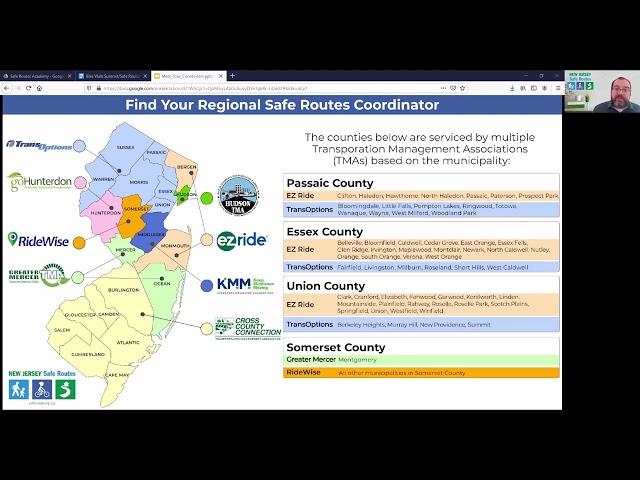 Safe Routes Academy: No Money No Problem. Meet Your NJ Safe Routes Coordinator