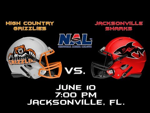 High Country Grizzlies vs. Jacksonville Sharks