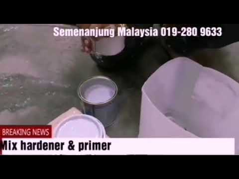 Easy DIY Epoxy primer & waterproof