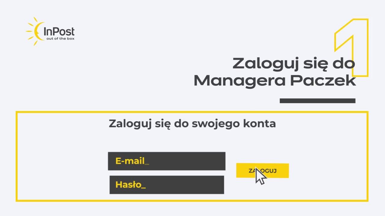 Inpost Jak Przygotowac Etykiete W Managerze Paczek I Zdefiniowac Nowy Punkt Odbioru Youtube