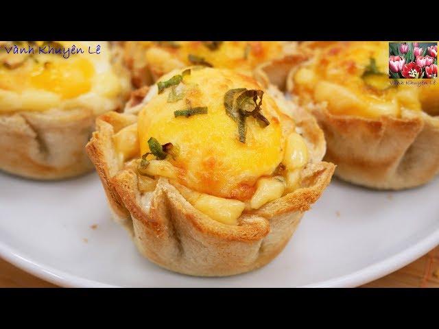 Bánh Trứng nướng - Cách làm món Bánh ngon mà rất nhanh cho các bữa tiệc nhỏ by Vanh Khuyen