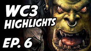 Warcraft III Weekly Highlights | Ep. 6 | Back2Warcraft, FollowGrubby, mistafaker, Wtii