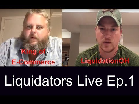 Liquidators Live Hangout with LiquidationOH and King of E-Commerce Episode 1
