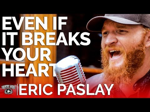 Eric Paslay – Even If It Breaks Your Heart (Acoustic) // Country Rebel HQ Session