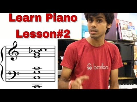 How to Read Staff Notation Piano Lesson#2 : Jatin Swaroop #Pianolessons
