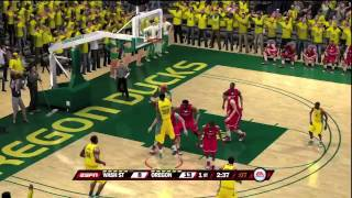 NCAA Basketball 10 - Washington State at Oregon (HD)