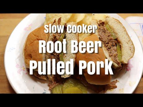 Slow Cooker Root Beer Pulled Pork / Slow Cooker / Pulled Pork Recipe