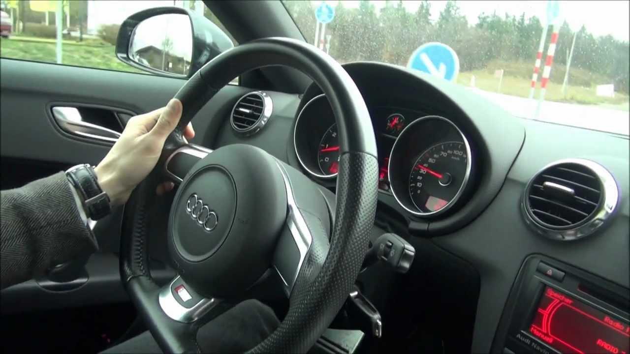 Audi TT 32 250 HP Quattro Test Drive Start up revs acceleration