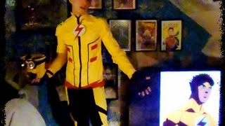 How to make A Kid Flash Costume