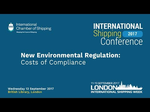 ICS INTERNATIONAL SHIPPING CONFERENCE 2017 PANEL 2 - Environ